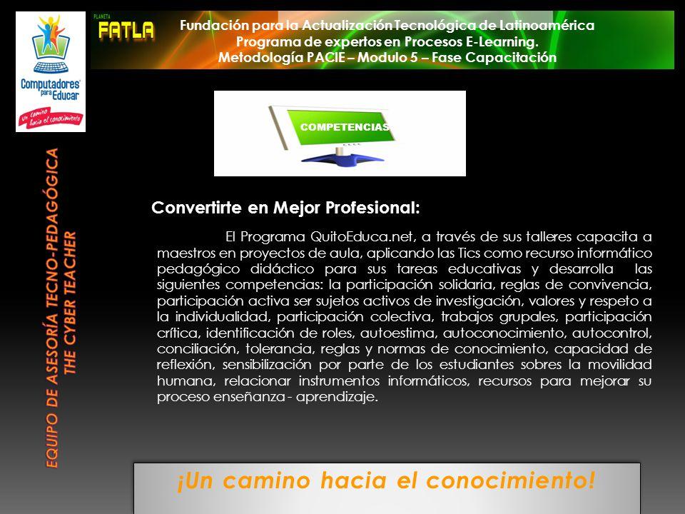 Equipo de Asesoría Tecno-pedagógica THE CYBER TEACHER