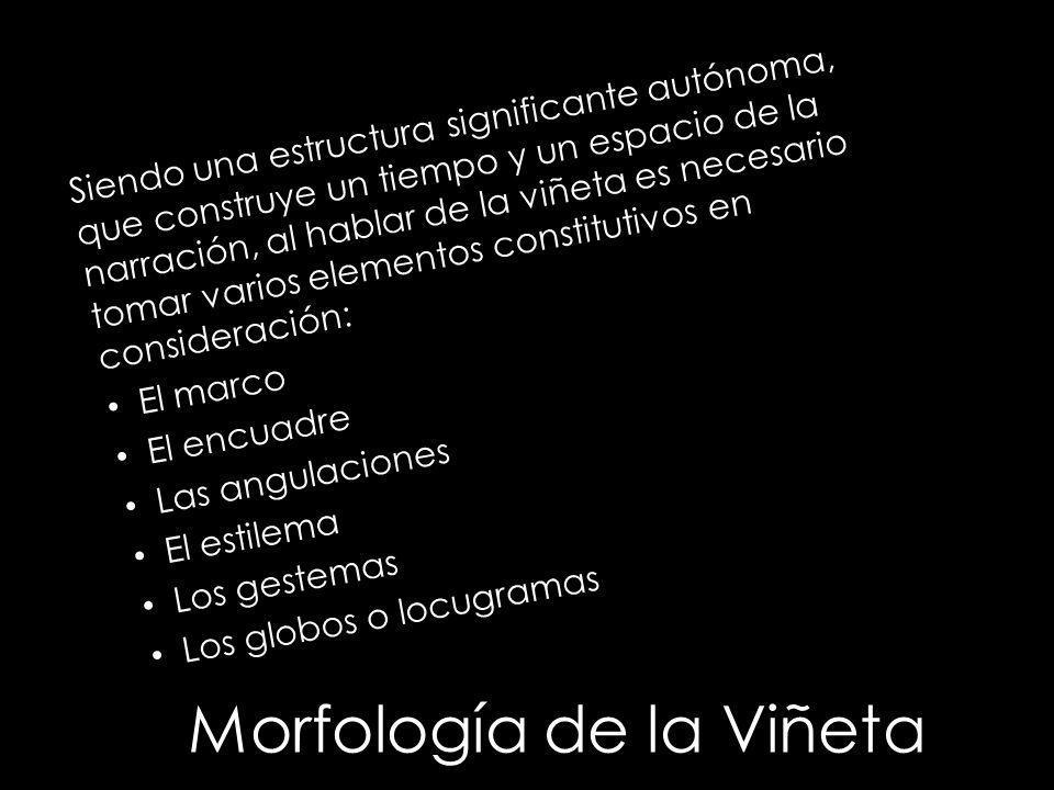 Morfología de la Viñeta