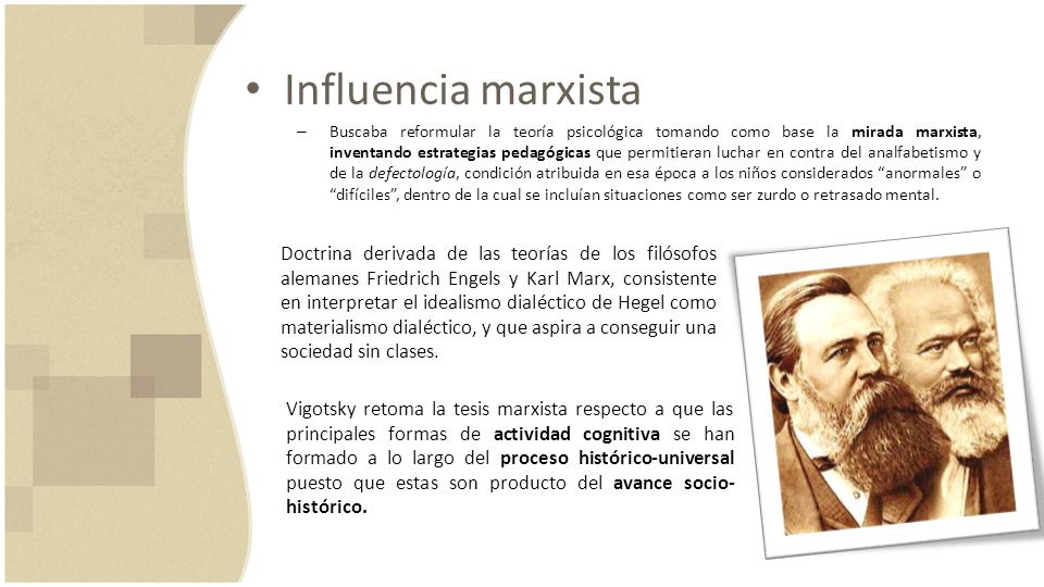 Influencia marxista