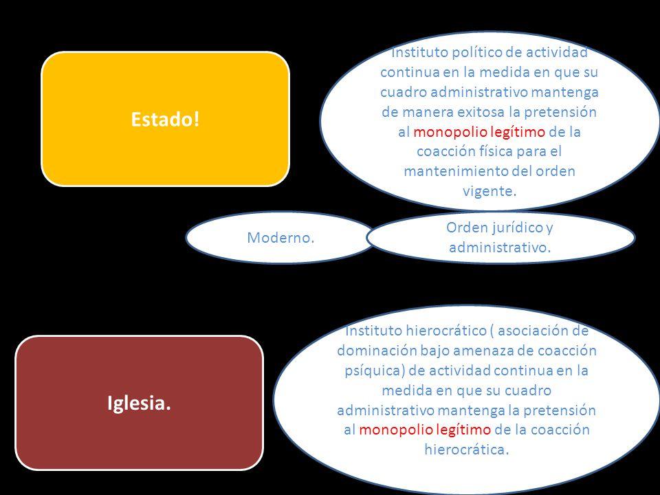 Orden jurídico y administrativo.