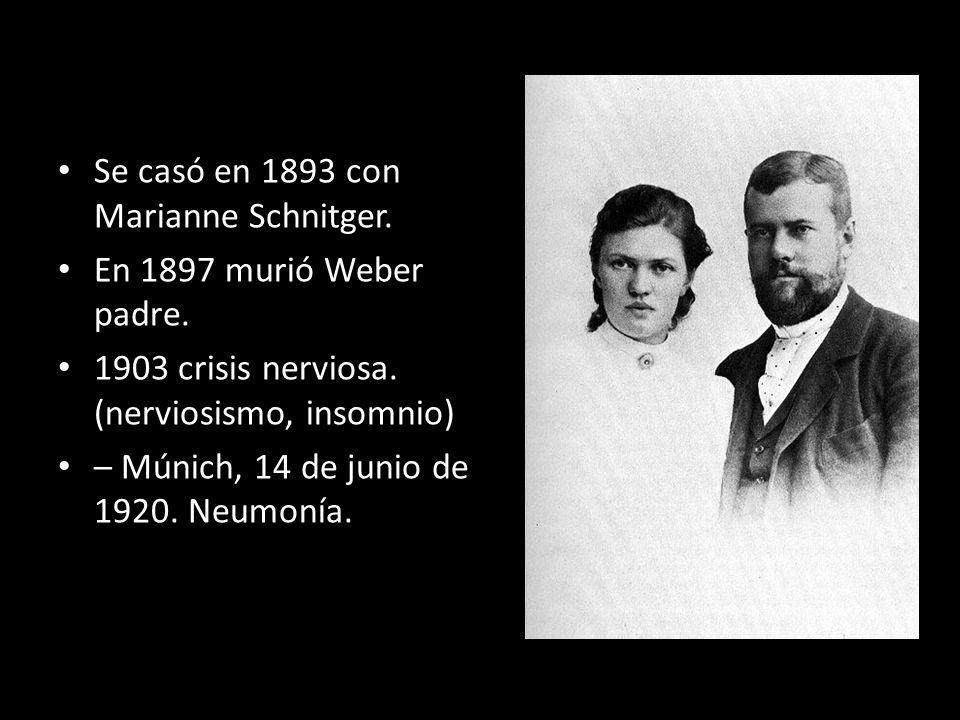 Se casó en 1893 con Marianne Schnitger.