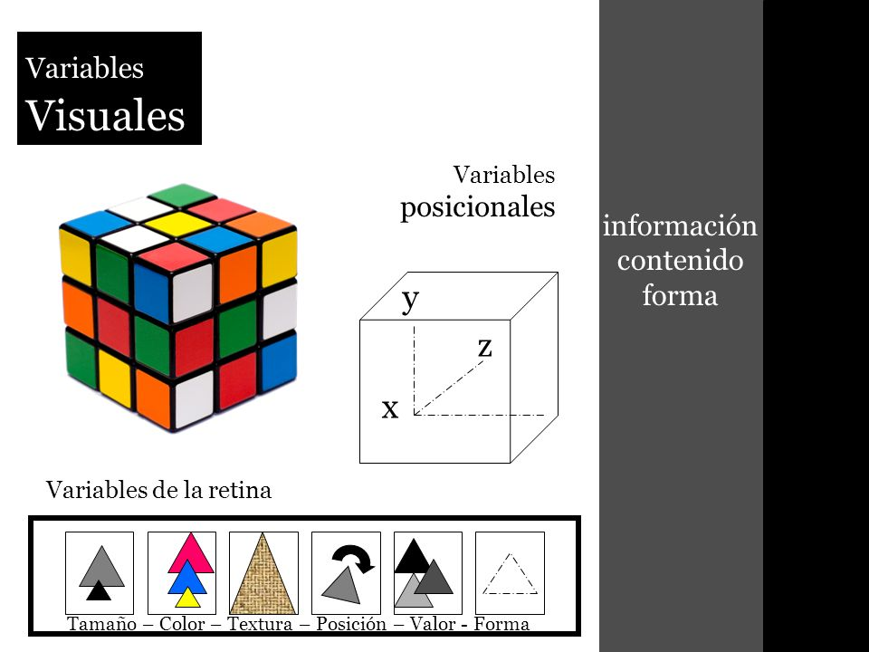 información contenido forma