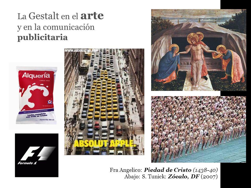 La Gestalt en el arte y en la comunicación publicitaria