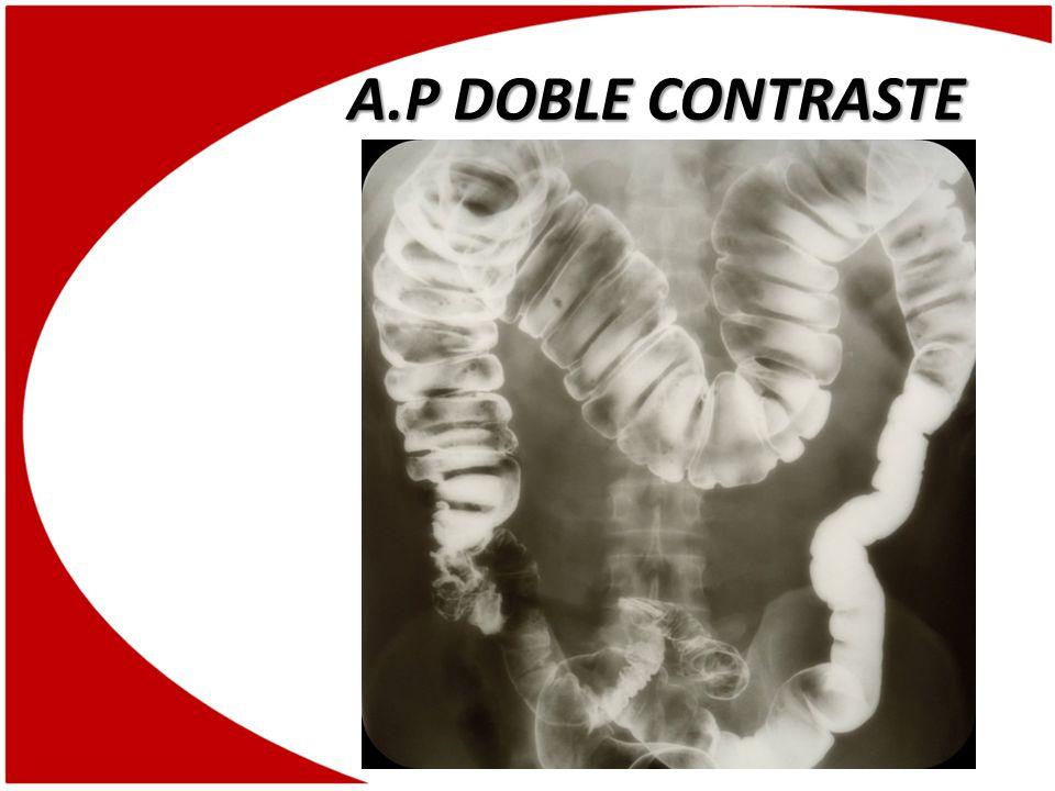 A.P DOBLE CONTRASTE