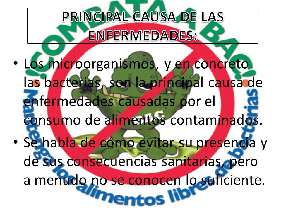 PRINCIPAL CAUSA DE LAS ENFERMEDADES: