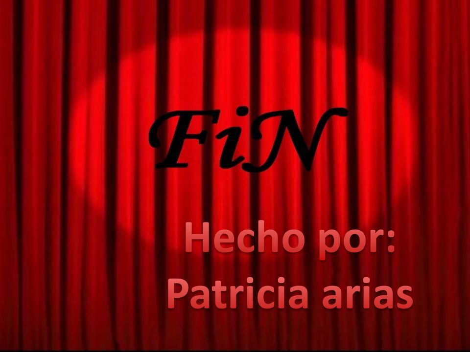 Hecho por: Patricia arias