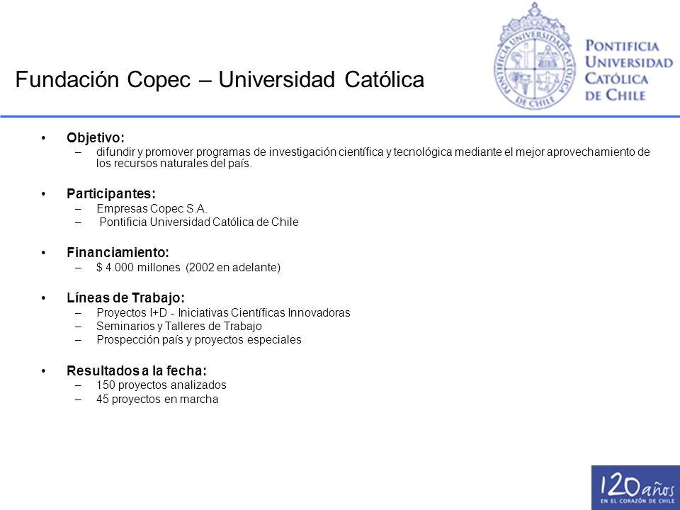 Fundación Copec – Universidad Católica