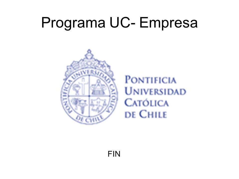 Programa UC- Empresa FIN