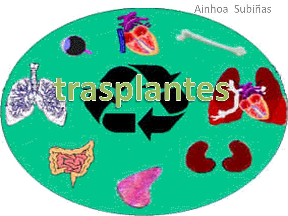Ainhoa Subiñas trasplantes