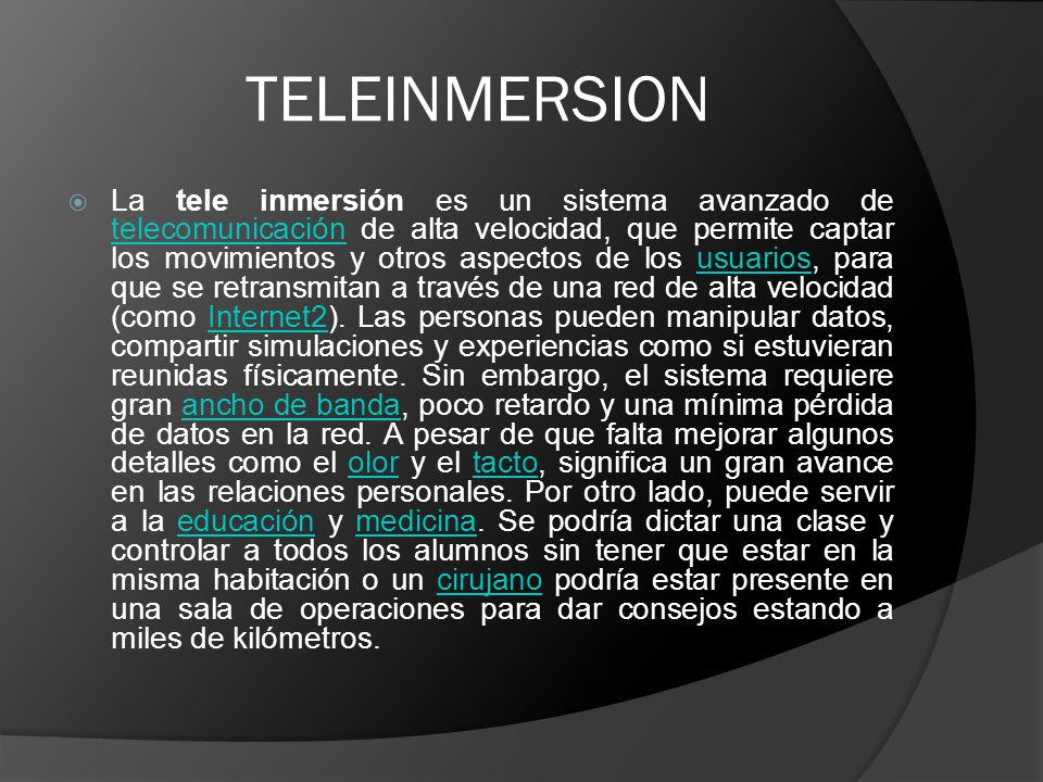 TELEINMERSION