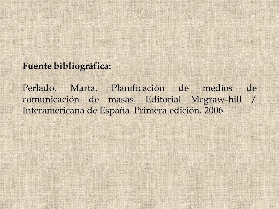 Fuente bibliográfica: