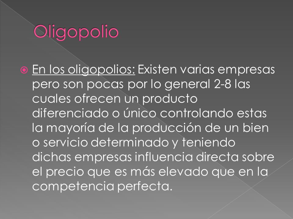 Oligopolio