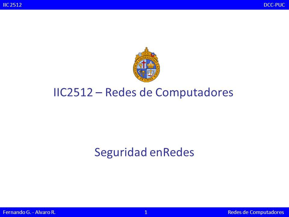 IIC2512 – Redes de Computadores