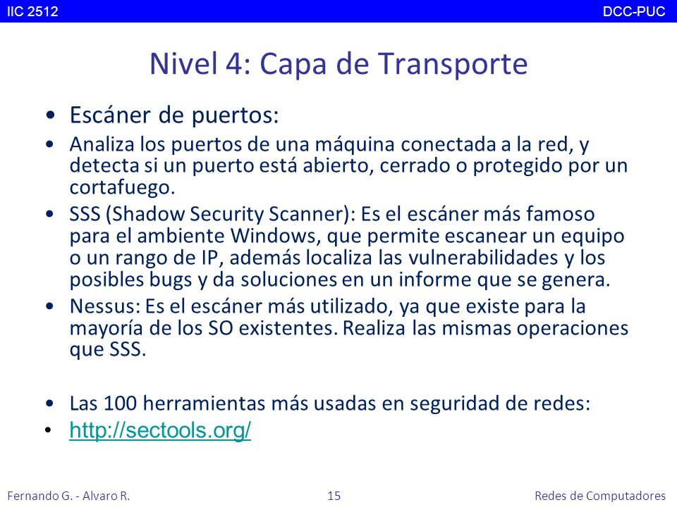 Nivel 4: Capa de Transporte