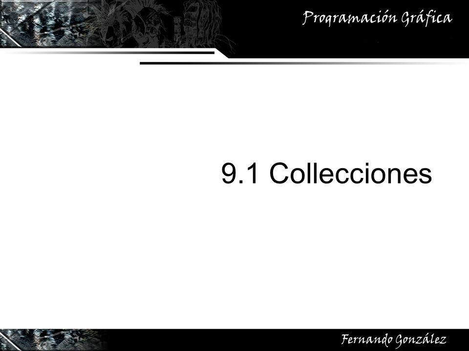 9.1 Collecciones
