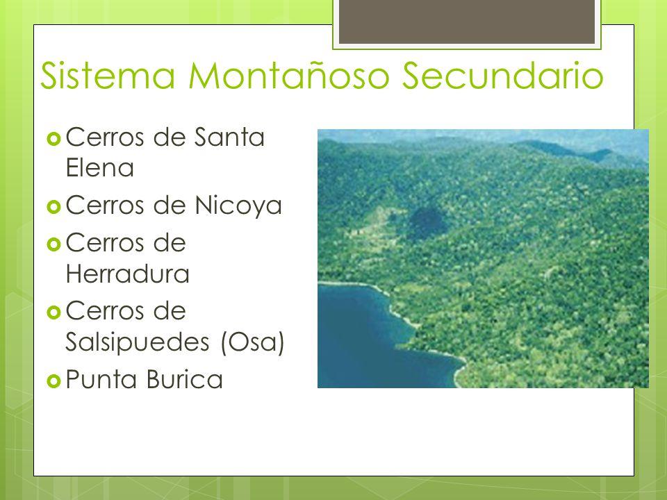 Sistema Montañoso Secundario