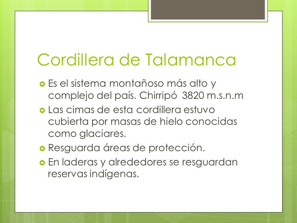 Cordillera de Talamanca