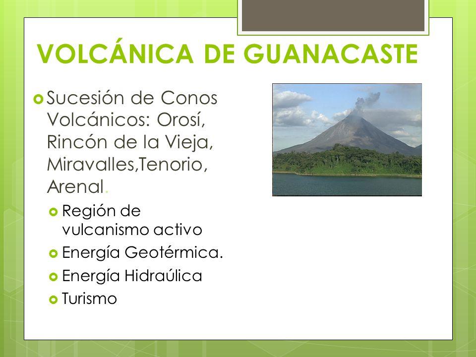 VOLCÁNICA DE GUANACASTE