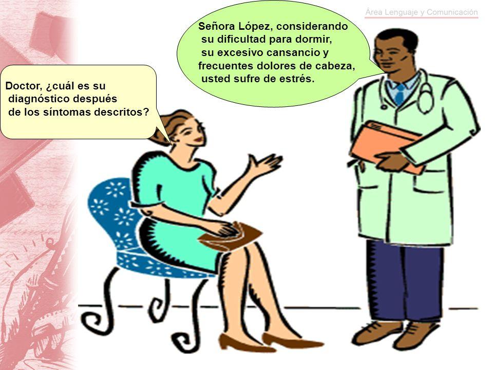 Señora López, considerando