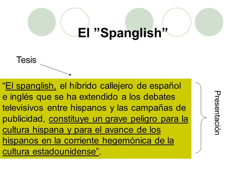 El Spanglish Tesis.