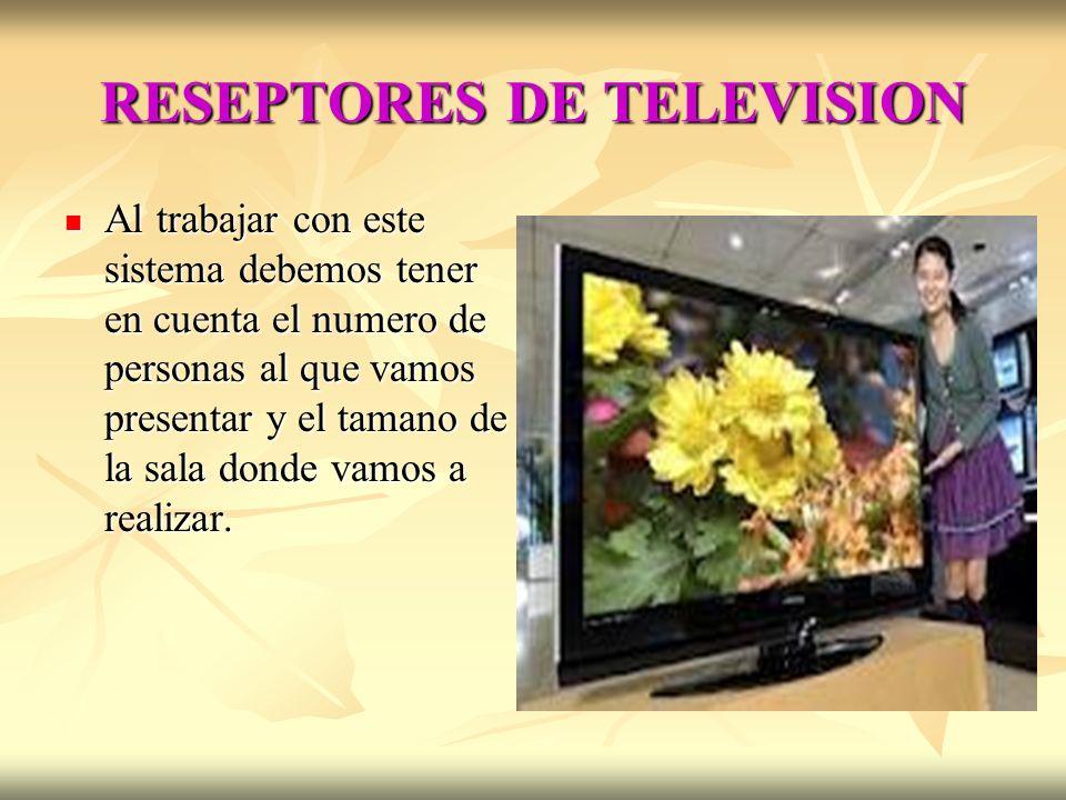 RESEPTORES DE TELEVISION