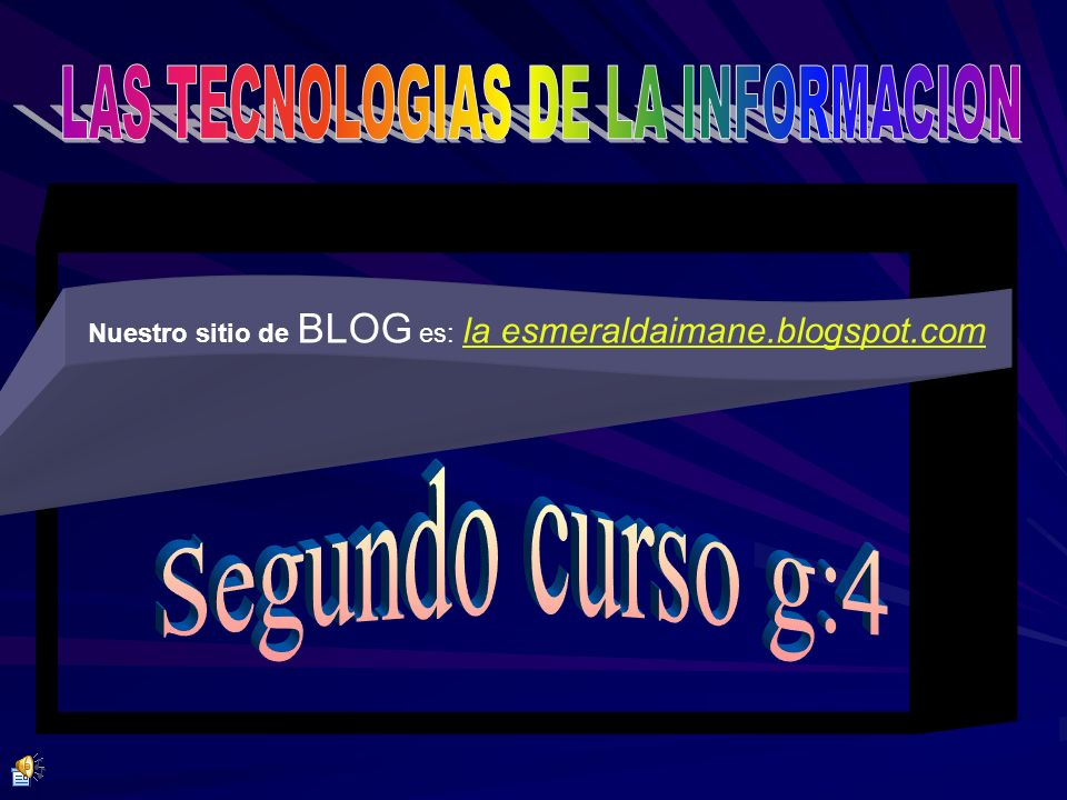 LAS TECNOLOGIAS DE LA INFORMACION