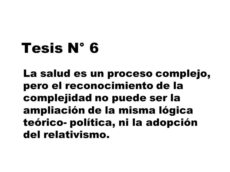 Tesis N° 6