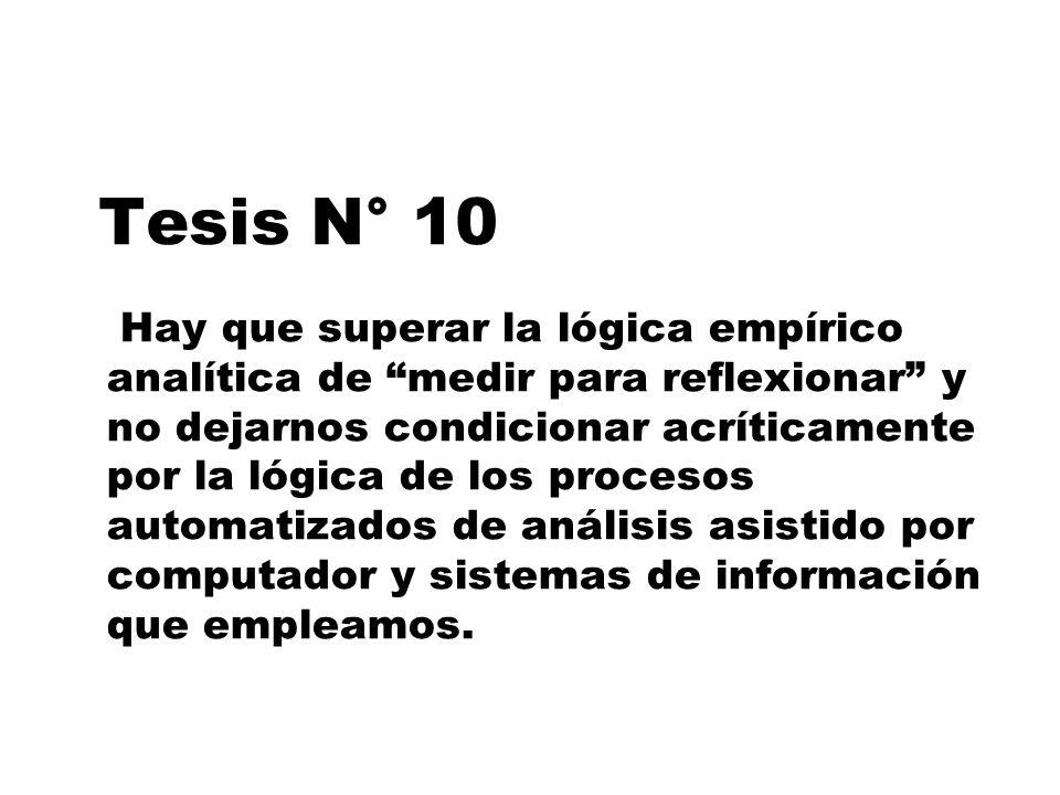 Tesis N° 10