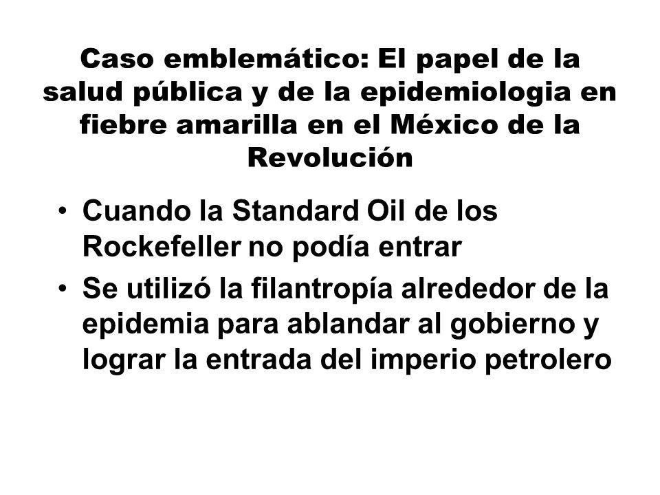Cuando la Standard Oil de los Rockefeller no podía entrar