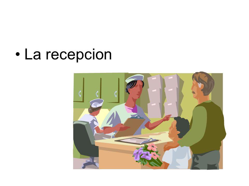 La recepcion