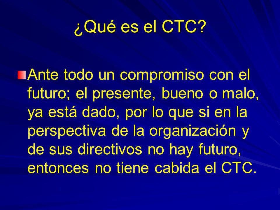 ¿Qué es el CTC
