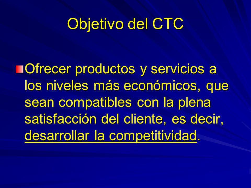 Objetivo del CTC