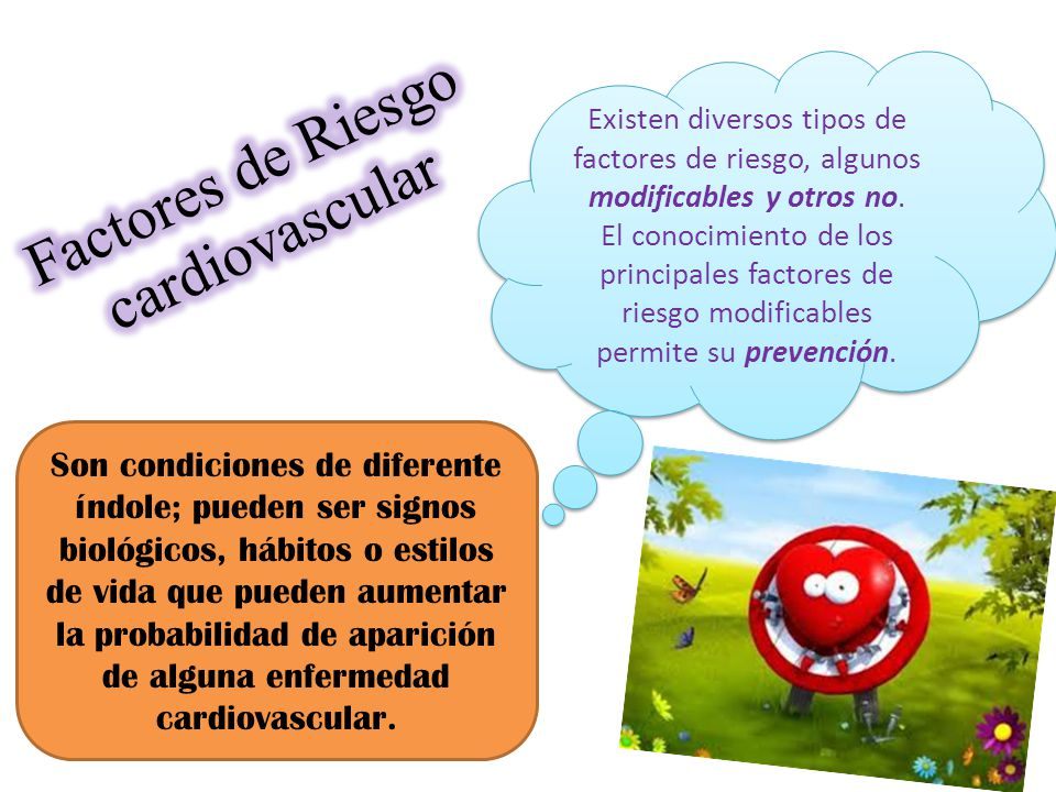 Factores de Riesgo cardiovascular