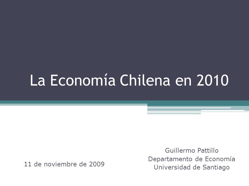Guillermo Pattillo Departamento de Economía Universidad de Santiago