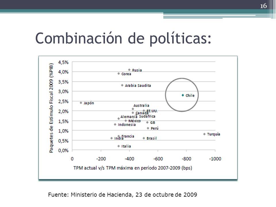 Combinación de políticas: