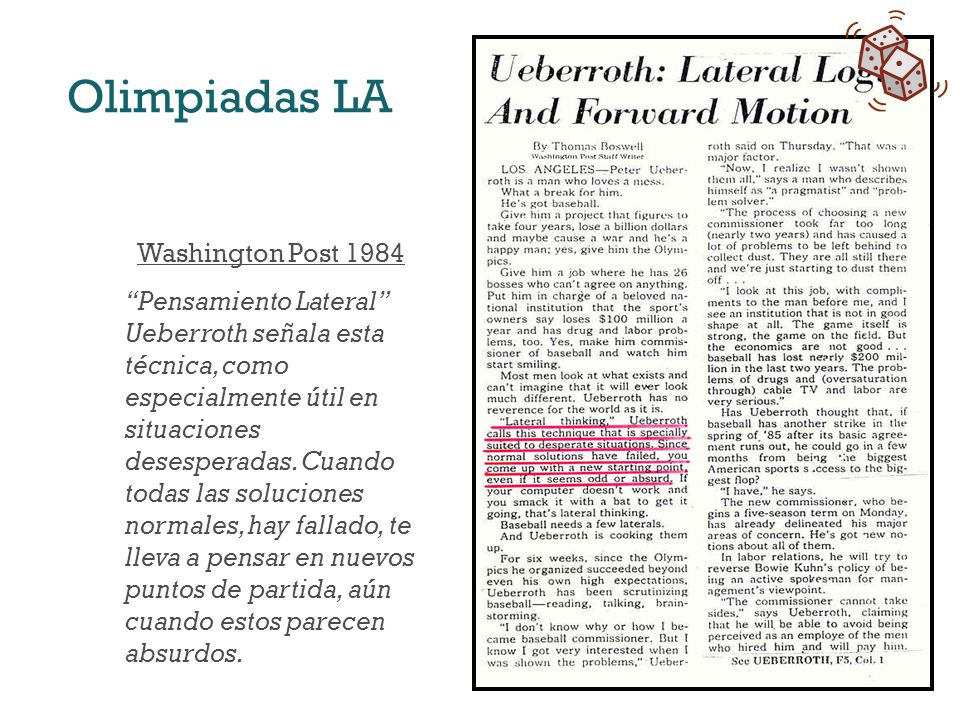Olimpiadas LA Washington Post 1984
