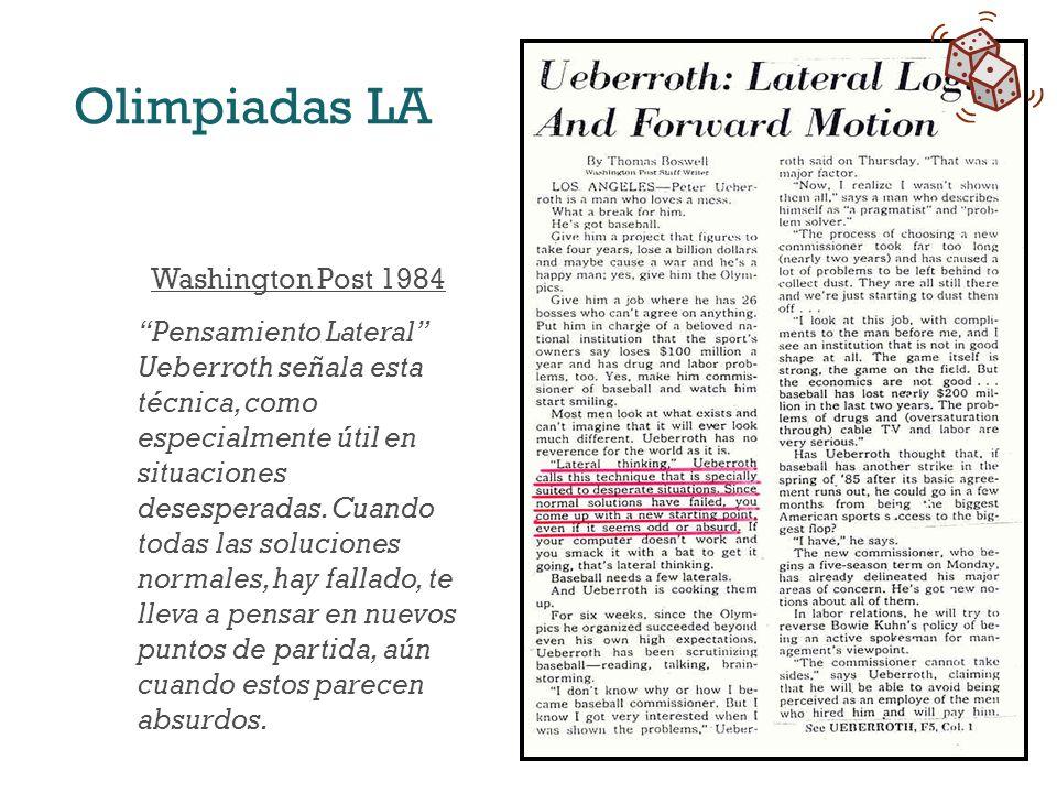 Olimpiadas LA Washington Post 1984