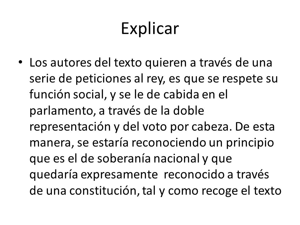 Explicar