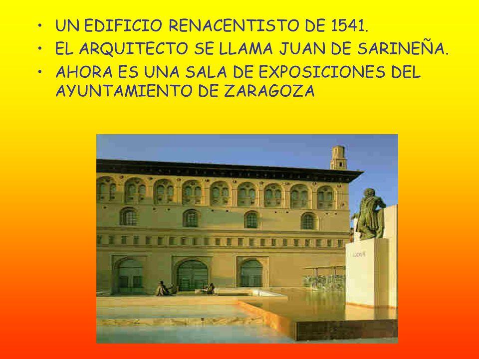 UN EDIFICIO RENACENTISTO DE 1541.