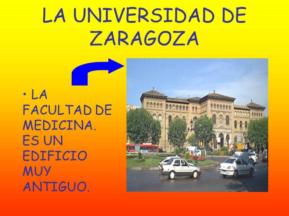 LA UNIVERSIDAD DE ZARAGOZA