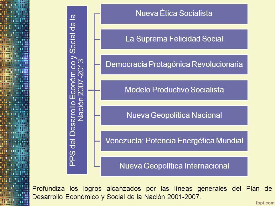 PPS del Desarrollo Económico y Social de la Nación 2007-2013