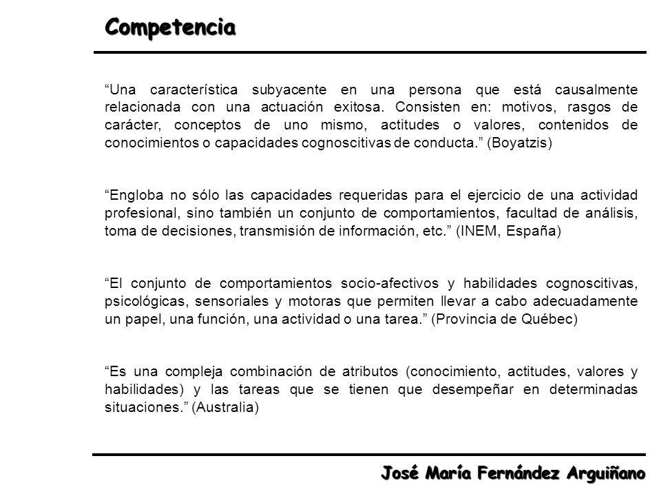 Competencia José María Fernández Arguiñano