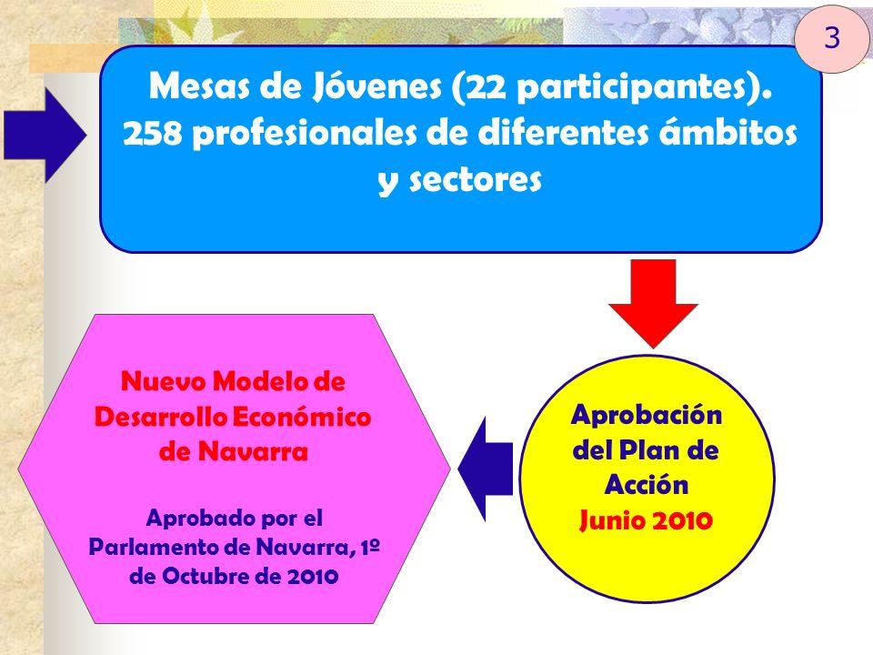 Mesas de Jóvenes (22 participantes).