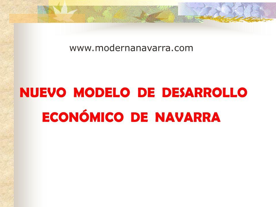 NUEVO MODELO DE DESARROLLO ECONÓMICO DE NAVARRA