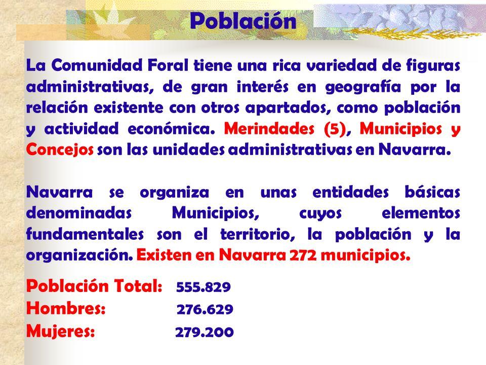 Población Población Total: 555.829 Hombres: 276.629 Mujeres: 279.200