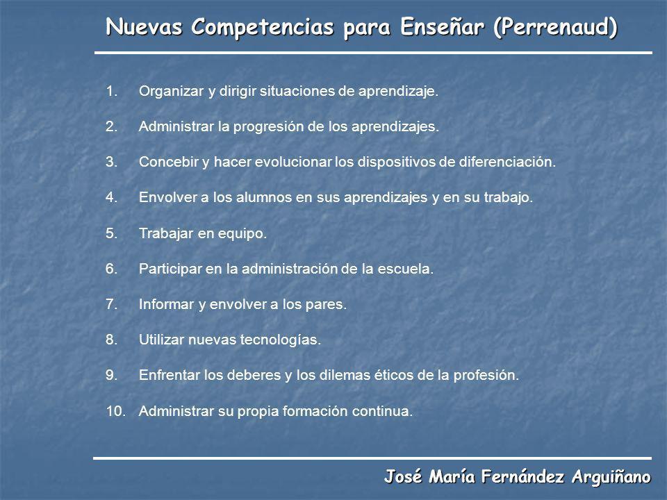 Nuevas Competencias para Enseñar (Perrenaud)