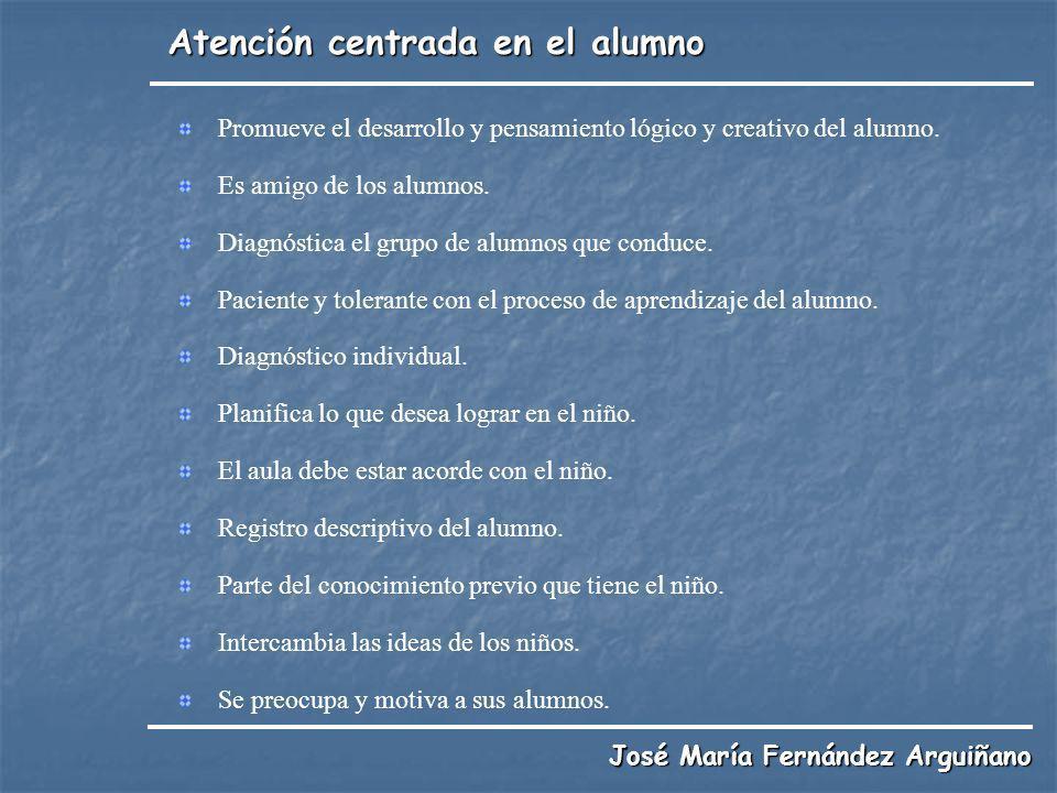 Atención centrada en el alumno