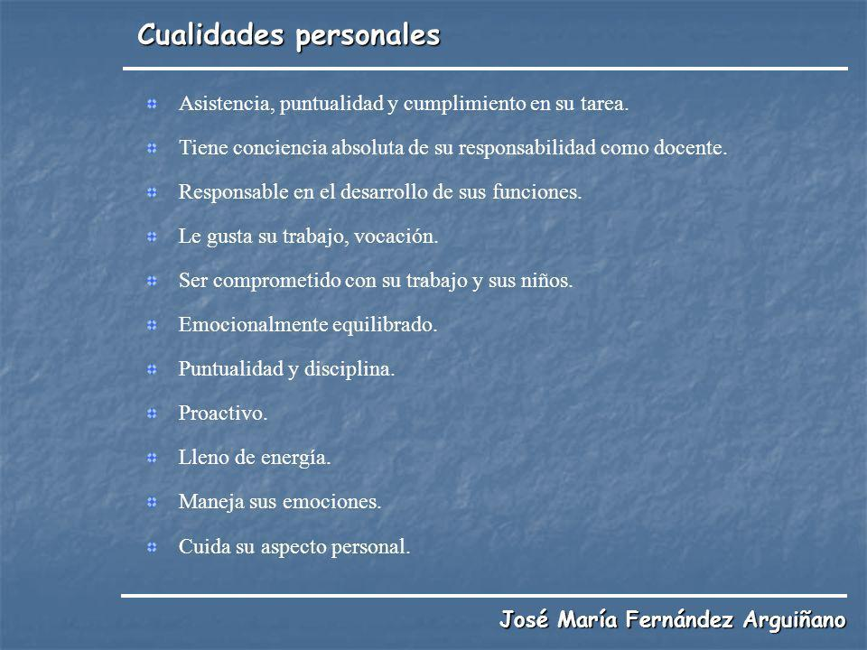 Cualidades personales
