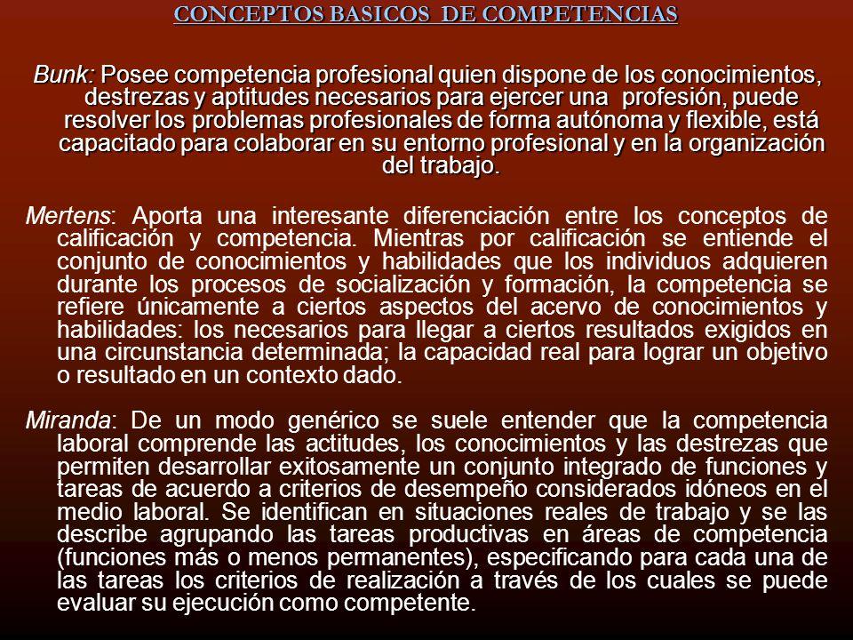 CONCEPTOS BASICOS DE COMPETENCIAS