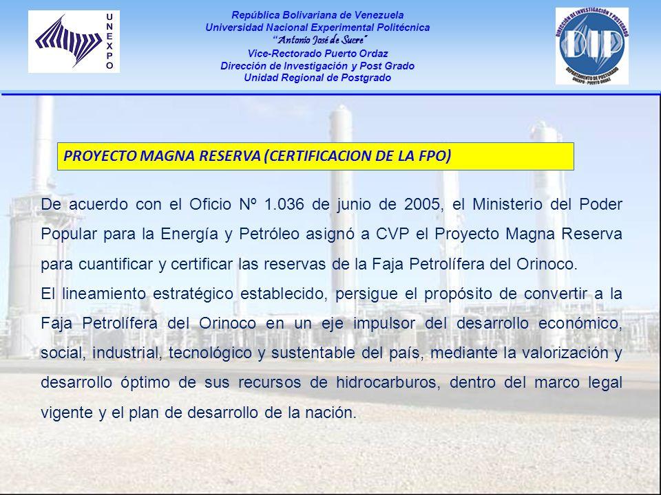 PROYECTO MAGNA RESERVA (CERTIFICACION DE LA FPO)